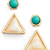 Jules Smith Mix & Match Earrings (Set of 2)   Nordstrom