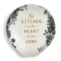 Kitchen is the Heart Spoon Rest