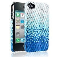 Cellairis By Elle & Blair Winter Glow Case for Apple Iphone 4/4s - Aquamarine