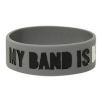 My Band Is Better Rubber Bracelet