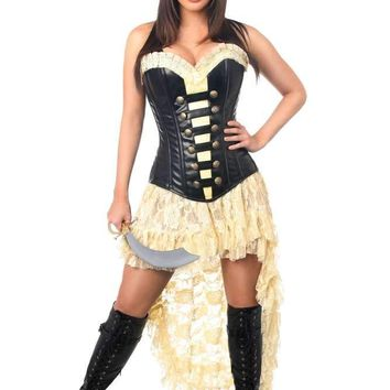 Daisy Corsets Female Plus Size  4 PC Pirate Wench Costume TD-1021_Plus