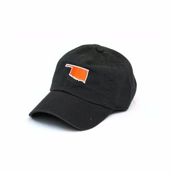 OK Stillwater Gameday Hat in Black by State Traditions