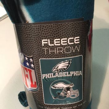 GREAT GIFT NORTHWEST 50x60 NFL PHILADELPHIA EAGLES FLEECE BLANKET SHIPPING!