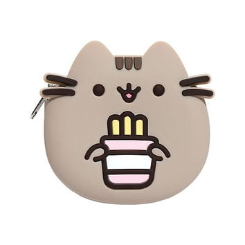Pusheen Fries Silicone Coin Purse