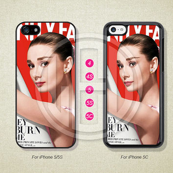 Audrey Hepburn, Phone Cases, iPhone 5S Case, iPhone 5 Case, iPhone 5C Case, iPhone 4 case, iPhone 4S case --L50822
