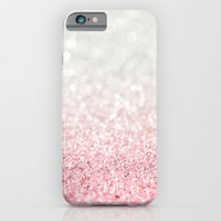 Pink Ombre Glitter iPhone & iPod Case by Heartlocked
