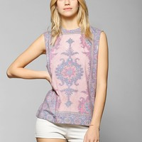 Blackstone Tapestry Muscle Tee - Urban Outfitters