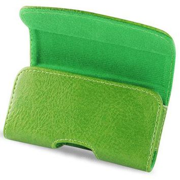 HORIZONTAL POUCH HP1022A HTC HD2 T8585 GREEN 4.9X2.7X0.5 INCHES: Case Of 120