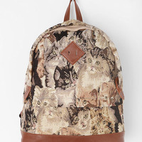 Urban Outfitters - Kimchi Blue Feline Collage Backpack
