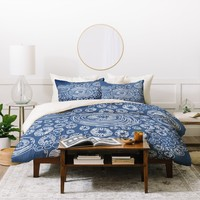 Julia Da Rocha Bluflower Duvet Cover