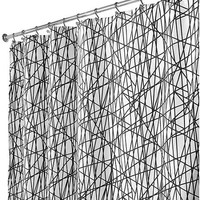 InterDesign Abstract Shower Curtain - Walmart.com