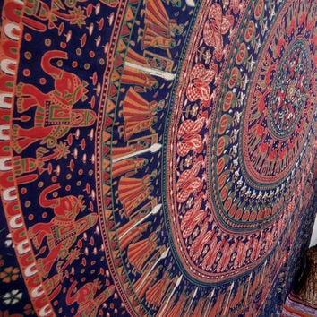 Arrow Tapestry Indian tapestries elephant tapestry,wall art,psychedelic tapestry,dorm decor,table throw,beach throw,room divider