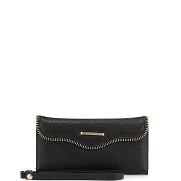 Rebecca Minkoff M.A.B. Charging Wristlet And Iphone 6/6S Case Set, Black LAVELIQ