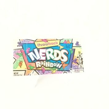 Small Women's Wallet, Fun Retro Nerds Candy Card Wallet for Women