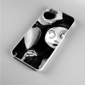 Jack and Sally The Nightmare Before BW Iphone 5s Case