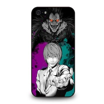 LIGHT AND RYUK DEATH NOTE iPhone 5 / 5S / SE Case Cover