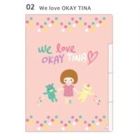 Okay Tina File Pocket Folder Set