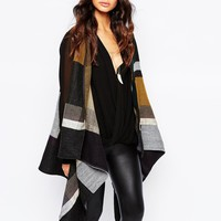River Island Blocked Sleeveless Cape