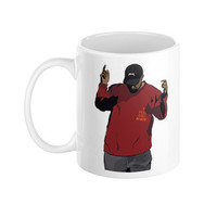 Kanye West Pablo T.L.O.P The Life of Pablo Yeezy Yeezus Season 3 Ye Ceramic Coffee Morning Mug