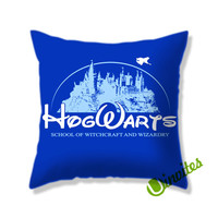 Harry Potter Hogwarts School Square Pillow Cover