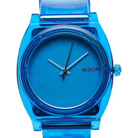 NIXON THE TIME TELLER P WATCH - TRANSLUCENT BLUE