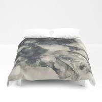 I keep Forgetting Duvet Cover by duckyb