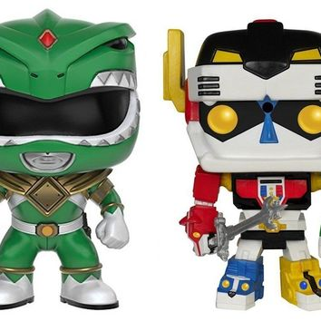 Funko Pop TV MM Green Ranger 360 & Voltron 70 5401.10308
