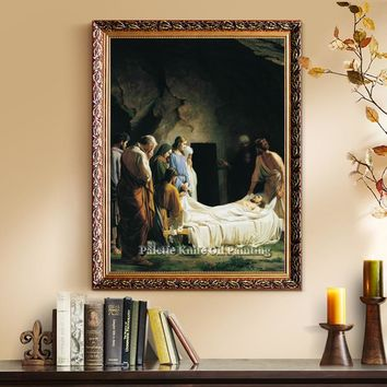 Jesus Christ Jesus Canvas Posters and Prints Wall Art Pictures for living room Home Decor cuadros decoracion Oil painting 27