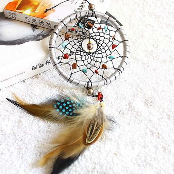Handmade Dreamcatcher with Beads