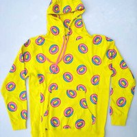 all over donut hoodie yellow – Odd Future Europe Webstore