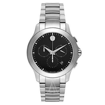 Movado Masino Chronograph Stainless Steel Watch 0606885