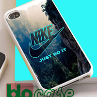 Nike Just Do It Mountain For Iphone 4/4s, iPhone 5/5s, iPhone 5C, iphone 6, and iPhone 6 Plus Case