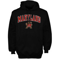 Maryland Terrapins Midsize Arch Pullover Hoodie - White
