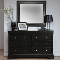 Black 6-Drawer Chest | Kirklands