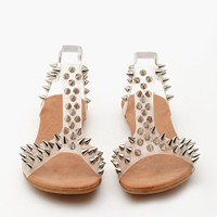 Jeffrey Campbell Puffer Spike Sandal - Clear