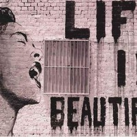Mr Brainwash Life Is Beautiful Poster 24x36