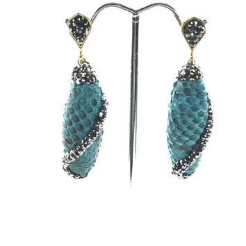 Python Cocoon Earrings