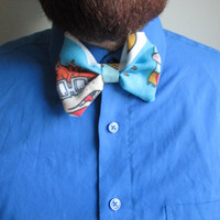 Vintage Rugrats Chuckie Clip On Bow Tie