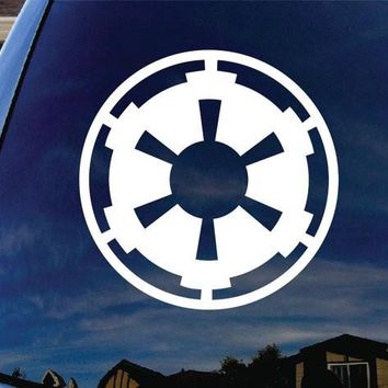 Galactic Empire Star Wars Vinyl Decal Sticker for Car Window