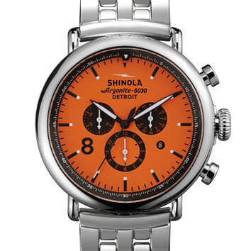 Men's 47mm Runwell Sport Chronograph Watch, Orange - Shinola - Orange (47mm ,7mm)