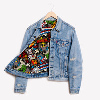 RWDZ x Marvel Iron Man x Levis Lined Jacket