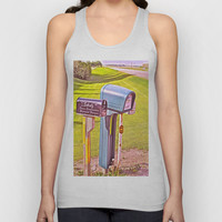 C.E. Mickleborough Unisex Tank Top by Charlotte's Web