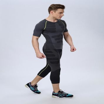 Absorb Sweat Quick-Drying Permeability Good Scalability Keep Tight Skin Comfortable Seamless Knitting Technology Shaping