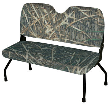 "48"" Commander II Hunting Blind Folding Bench Seat, Cordura Mossy Oak Shadow Grass - Wise"