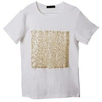 Square Sequin Top | THE URBAN APPAREL - Tee Shirts | Knit Tops - Clothing - MEN | Indie Clothes & Accessories