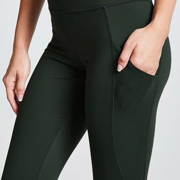 Active Stitch-Panel Leggings