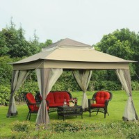 Sunjoy Portia 10 ft. x10 ft. Portable Gazebo w/ Carry Bag