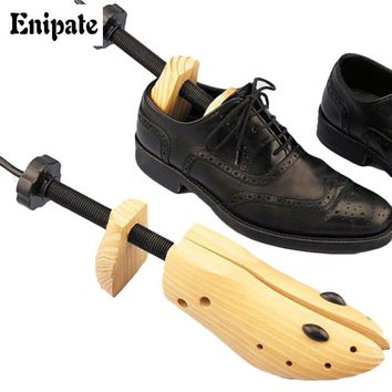 Enipate New Arrival Wood expansion shoe Pine  wooden to expand shoes accessories to support Shoe Adjustable Boot Shoe Stretcher