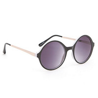 With Love From CA 2 Tone Round Sunglasses at PacSun.com