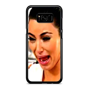 Kim Kardashian Crying Samsung Galaxy S8 Plus Case
